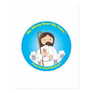 Jesus the Good Shepherd Postcard