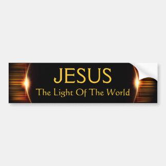 Jesus, The Light of the World Bumper Sticker