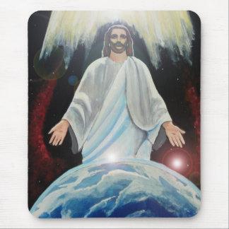 Jesus the Light of the World Christian MousePad