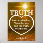 Jesus The Light Of Truth Bible Verse-Customize Print