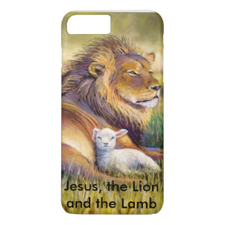 Jesus, the lion and the Lamb iPhone 8 Plus/7 Plus Case