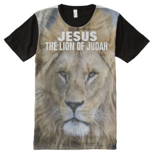dc8f2179 JESUS THE LION OF JUDAH All-Over-Print T-Shirt