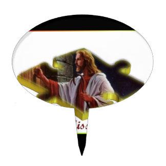 Jesus The Missing Piece Cake Pick