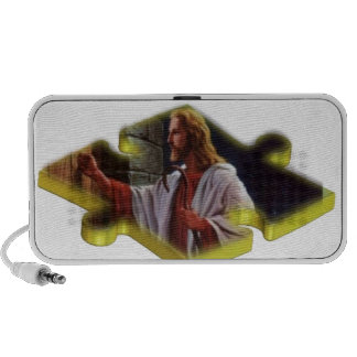 Jesus The Missing Piece iPod Speakers