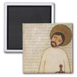 Jesus The Omega 2 Inch Square Magnet