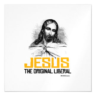 Jesus - The Original Liberal Magnetic Invitations
