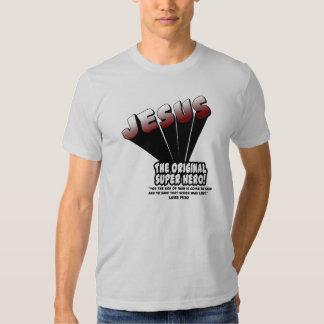 Jesus: The Original Super Hero Luke 19:10 Tee Shirt