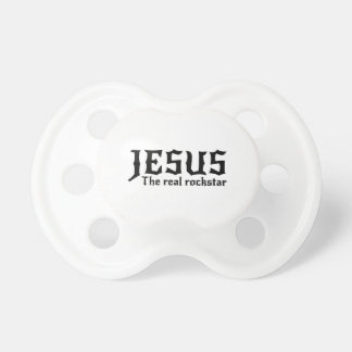 Jesus the Real Rockstar Pacifier
