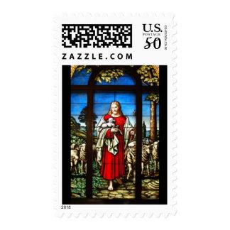 Jesus the shepherd postage