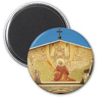 Jesus, the son of GOD in Church of Nations 2 Inch Round Magnet