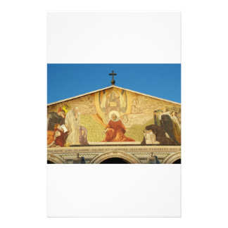 Jesus, the son of GOD in Church of Nations Stationery Design