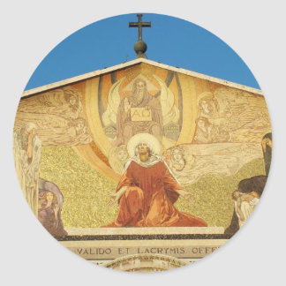 Jesus, the son of GOD in Church of Nations Sticker