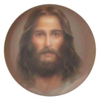 Jesus The Son Of God Melamine Plate