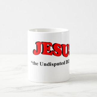"""JESUS - """"the undisputed BOSS!"""" (Coffee/Tea Mug) Coffee Mug"""