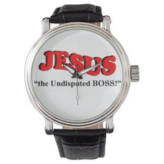 "JESUS - ""the undisputed BOSS!"" (Men's Wrist-watch) Watches"