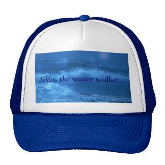 Jesus, the water walker... mesh hat
