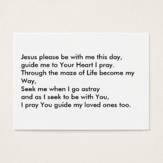 Jesus the Way through Life Business Card