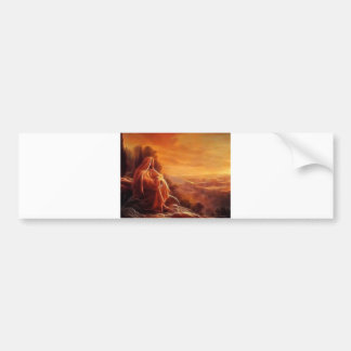 Jesus Thinking About You Bumper Sticker