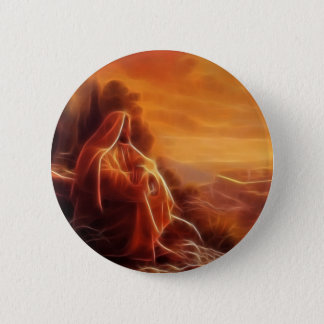 Jesus Thinking About You Button
