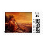 Jesus Thinking About You Stamp