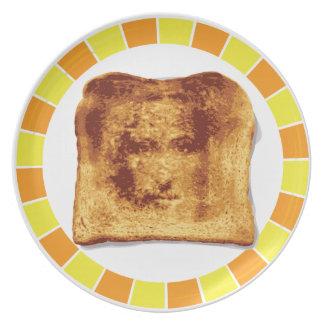 Jesus Toast Dinner Plate