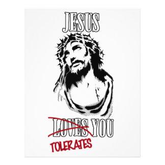 Jesus Tolerates You Flyer