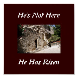 Jesus Tomb Poster