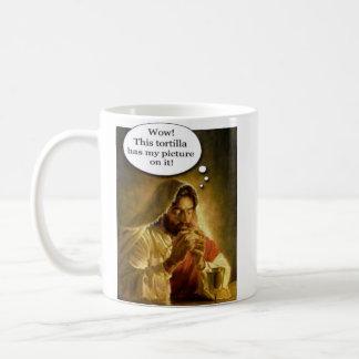 Jesus Tortilla Coffee Mug