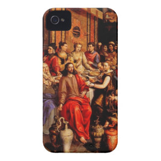 Jesus turns water into wine iPhone 4 Case-Mate cases