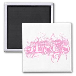 Jesus UltraDéco Pink Magnet