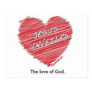 Jesus Unveiled Postcards