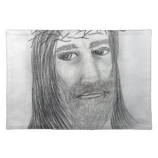 Jesus Up Close Placemat