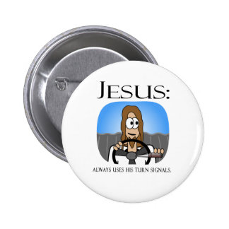 Jesus Uses His Turn Signals Button