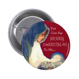 Jesús usted puede decir FELIZ NAVIDAD a mí… Pin