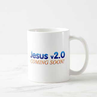 Jesus v2.0 coffee mug
