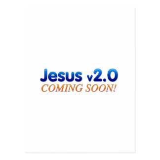 Jesus v2.0 postcard