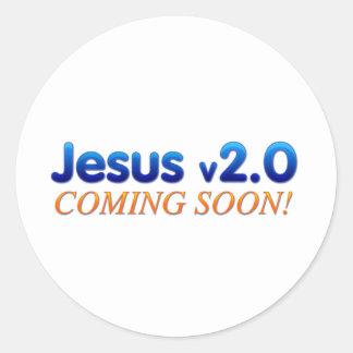 Jesus v2.0 stickers