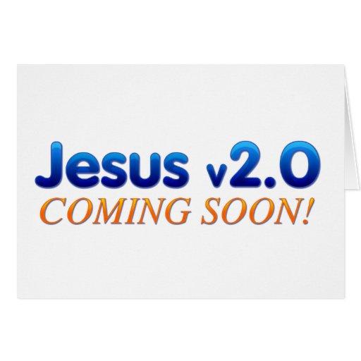 Jesús v2.0 tarjeta de felicitación