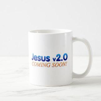 Jesús v2.0 taza