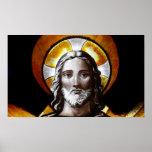 Jesús (vitral) /Poster