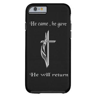 Jesús volverá mercancía funda de iPhone 6 tough