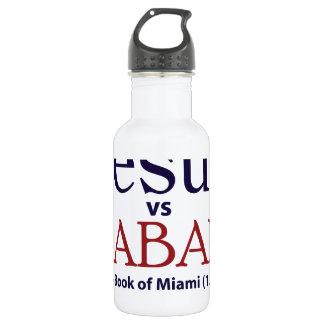 Jesus vs Saban 18oz Water Bottle
