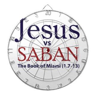 Jesus vs Saban Dartboards