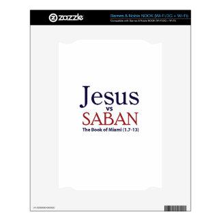 Jesus vs Saban Decals For NOOK