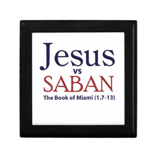 Jesus vs Saban Trinket Boxes