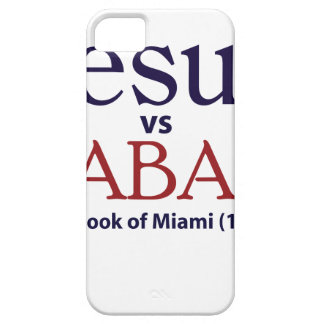 Jesus vs Saban iPhone 5 Covers