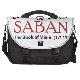 Jesus vs Saban Laptop Bags