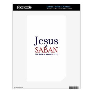Jesus vs Saban NOOK Color Skin
