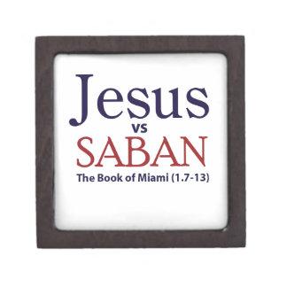 Jesus vs Saban Premium Keepsake Box