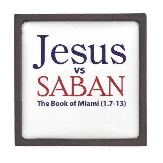 Jesus vs Saban Premium Trinket Boxes